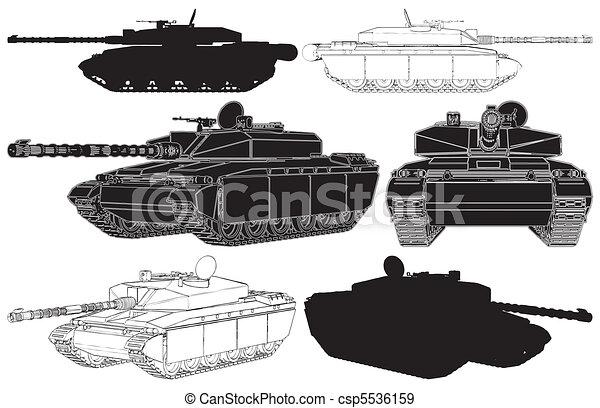 Military Tank - csp5536159