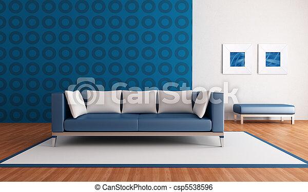 Archivi immagini di blu salotto moderno minimalista for Salotto con divano blu
