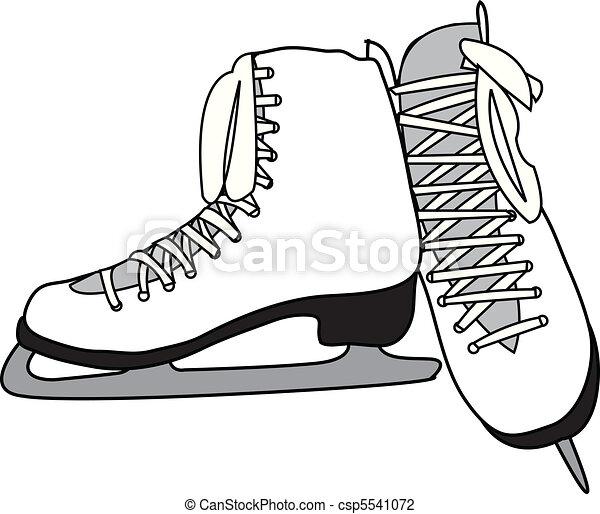 Figure Skates - csp5541072