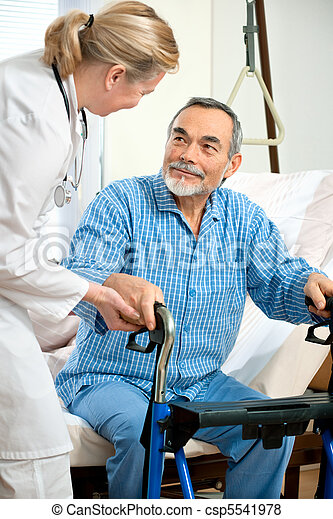 in hospital - csp5541978