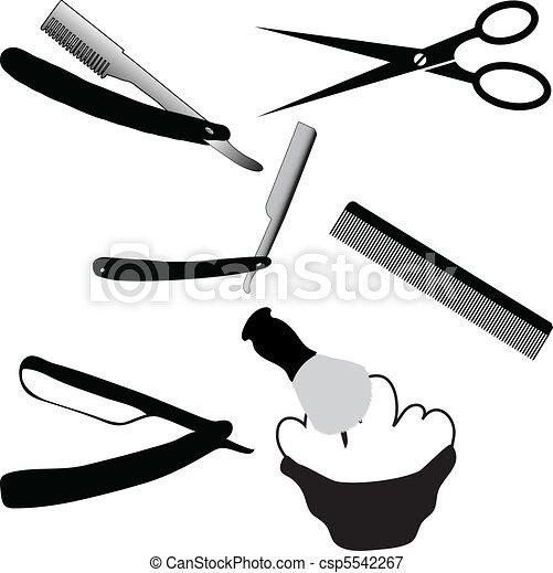 Shaving and sucking - csp5542267