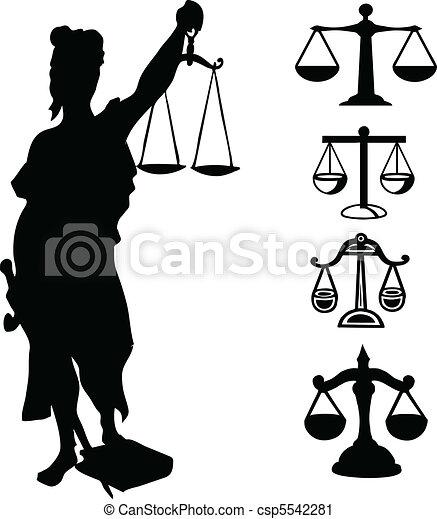 Symbol of justice - csp5542281