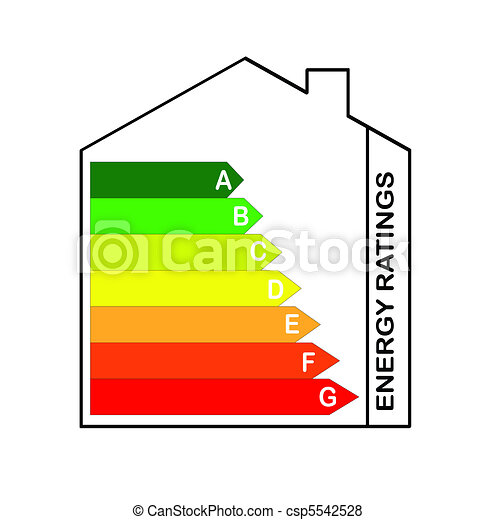 Energy Ratings Scale - csp5542528