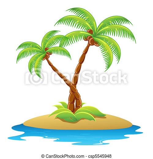 Palm Tree - csp5545948