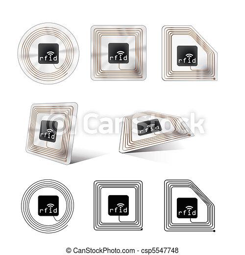rfid chip - csp5547748