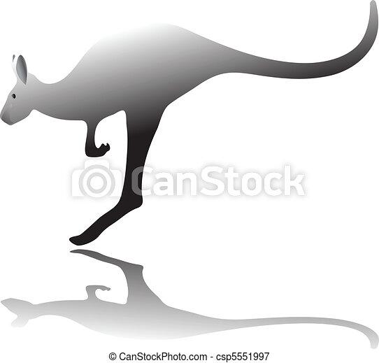 kangaroo hop - csp5551997