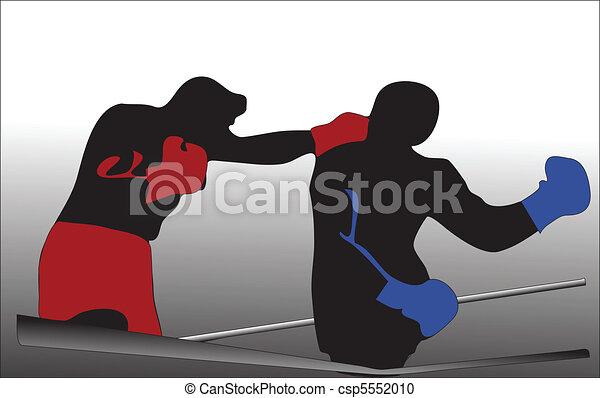 box fighting - csp5552010
