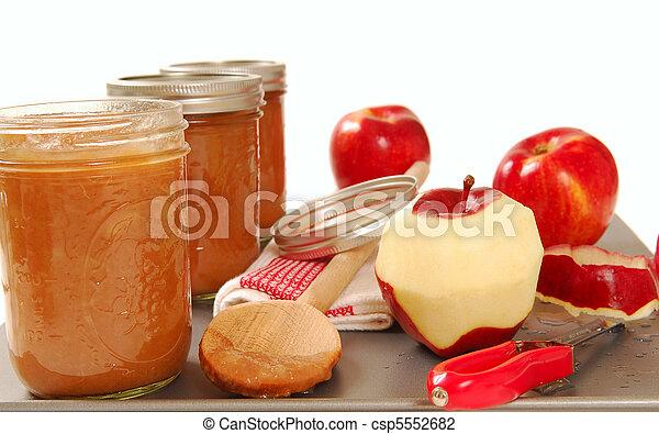 Preparing Apples For Baby Food
