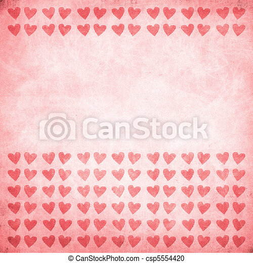 valentine's day background - csp5554420