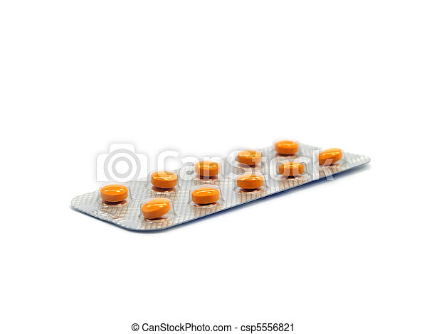 pharmaceutical pills - csp5556821