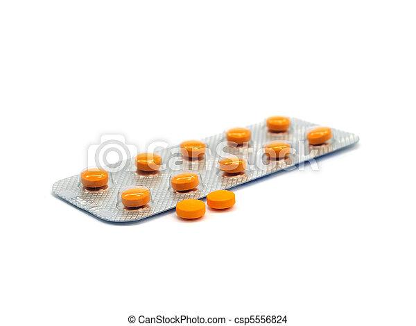 pharmaceutical pills - csp5556824