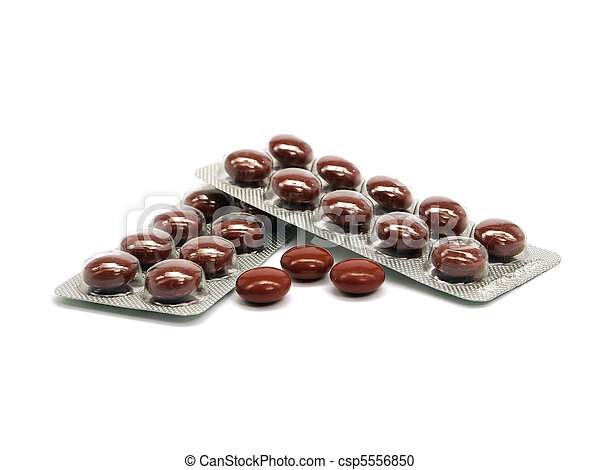 pharmaceutical pills - csp5556850