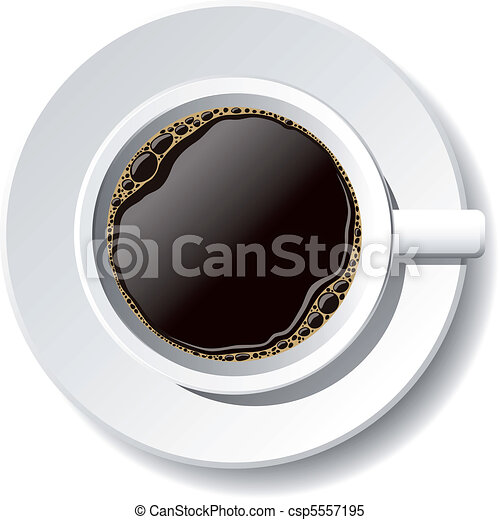 cup of coffee - csp5557195
