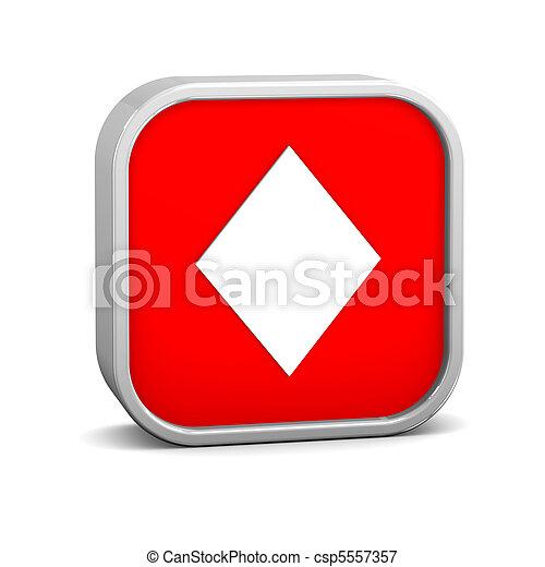 Playing Cards Diamonds - csp5557357