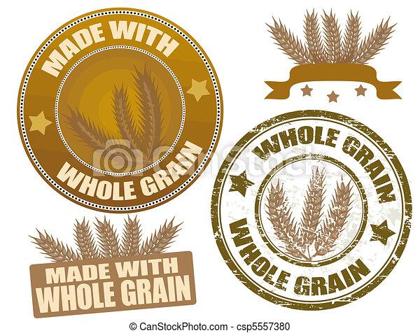 Whole Grain - csp5557380
