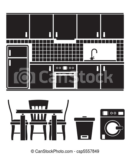 kitchen objects - csp5557849