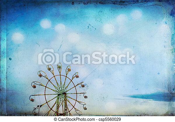 Ferris Wheel Texture - csp5560029