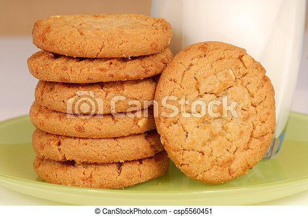 Peanut butter cookies - csp5560451