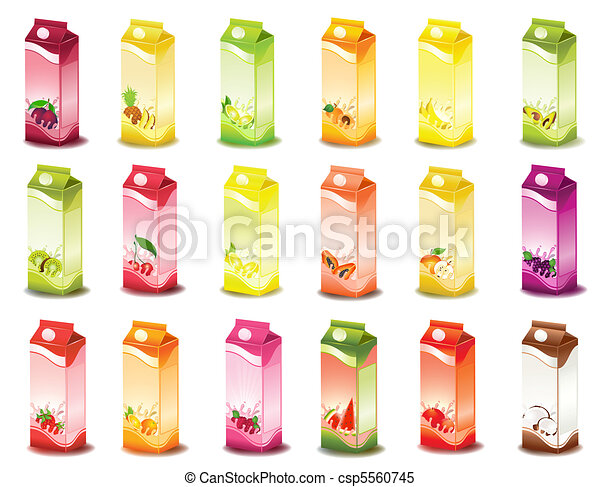 milky products with fruit - csp5560745