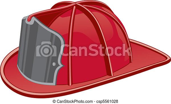 Firefighter Helmet - csp5561028