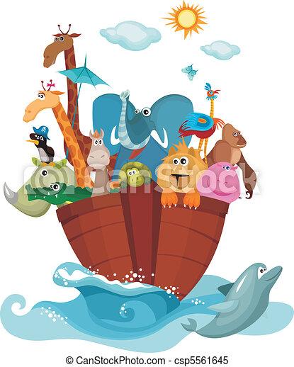 Noah's Ark - csp5561645