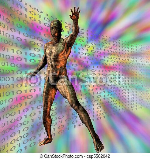 Future man - csp5562042