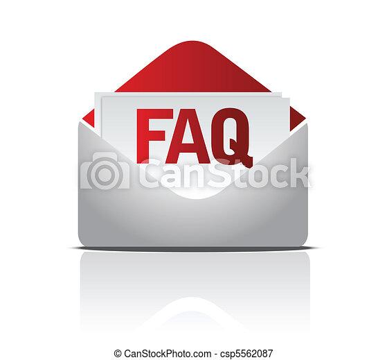 faq mail - csp5562087