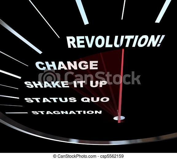 Change - Speedometer Races to Revolution - csp5562159