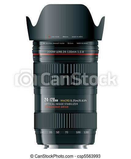 Professional zoom lens - csp5563993