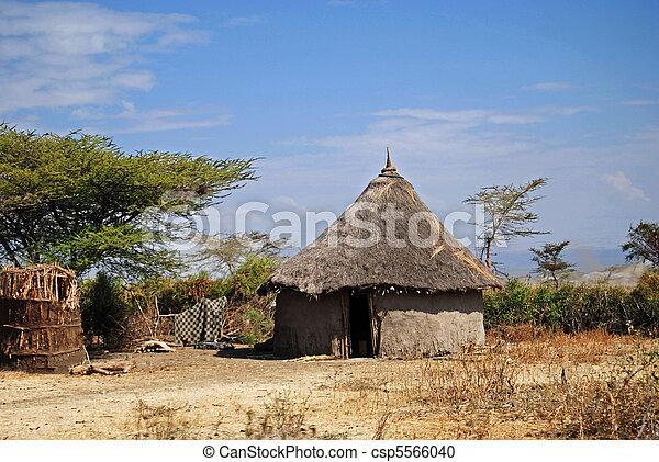 Ethiopian hut - csp5566040