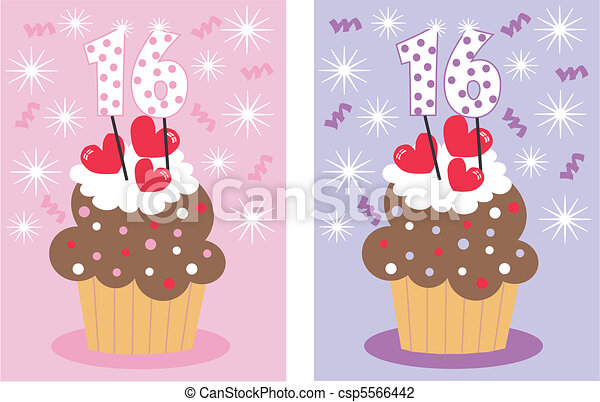 sweet sixteen - csp5566442