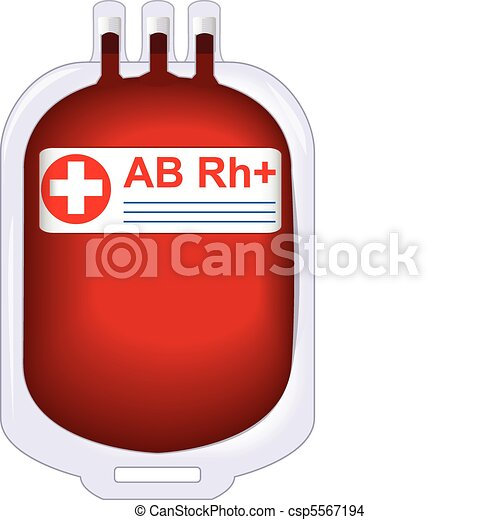 donor tinned blood  - csp5567194