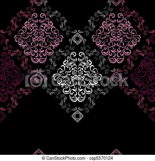 Abstract seamless stylish pattern - csp5570124