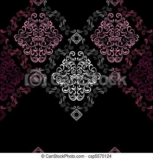 Abstract seamless stylish pattern - csp5570124