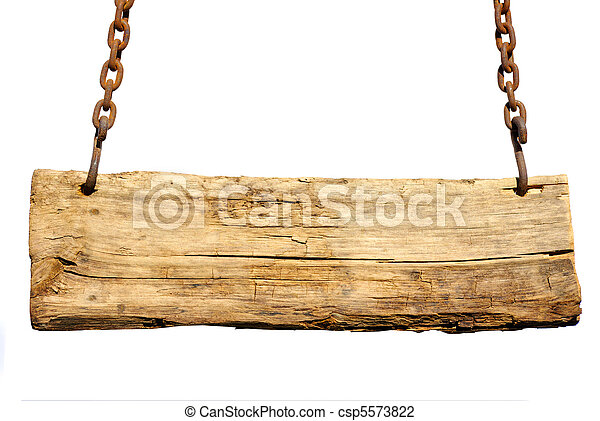 Wood sign - csp5573822