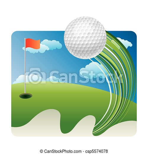 golf sport - csp5574078