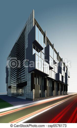 business centre - csp5576173
