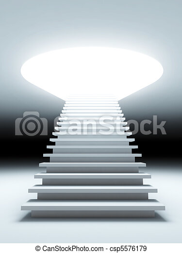 stair to the future. - csp5576179