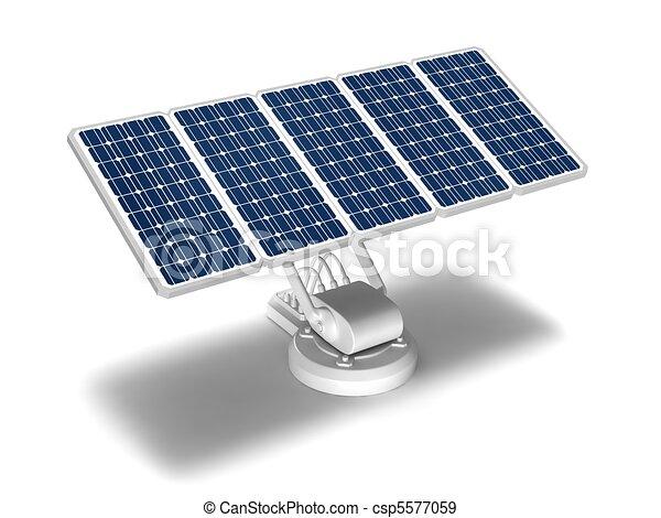 solar energy panels - csp5577059
