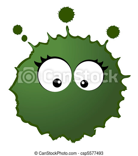 Vector virus and germs - csp5577493