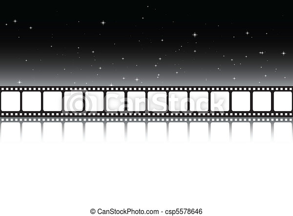 Dark cinema background - csp5578646