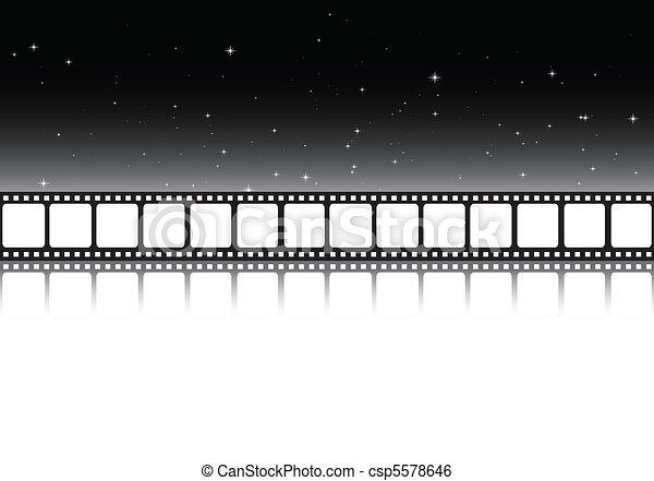 Dark cinema background - csp5578646