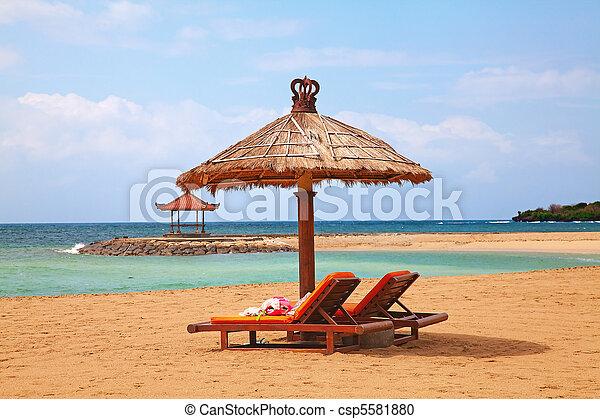 beautiful beach - csp5581880