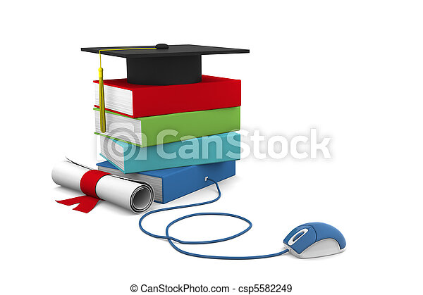 Online Education - csp5582249