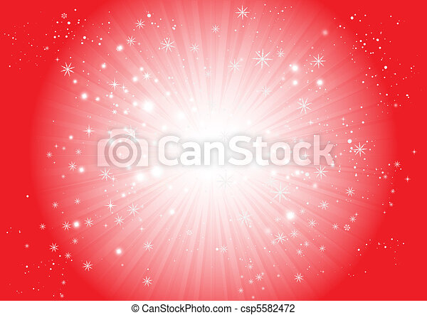 Vector Christmas snowflake blast - csp5582472
