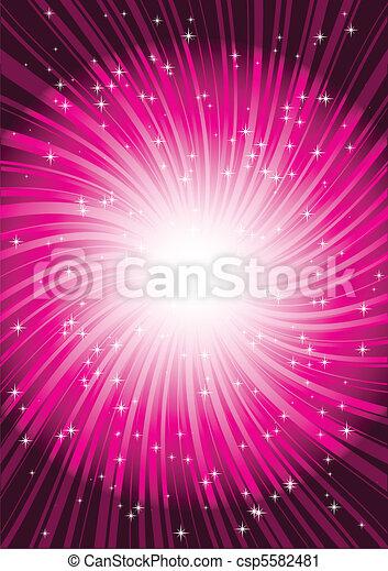 Pink striped whirlpool - csp5582481