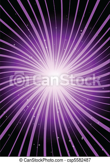 Vector spark purple rising - csp5582487