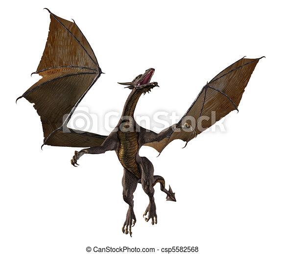 Flying Dragon - 2 - csp5582568