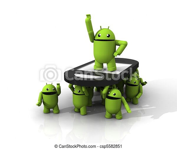 3D ANDROID GROUP - csp5582851