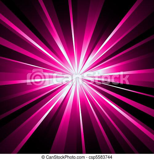 Laser beams background - csp5583744